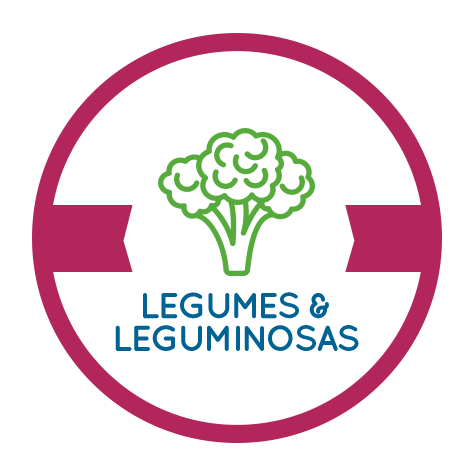 Legumes e Leguminosas