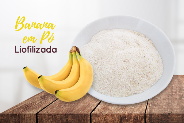 Banana em Pó